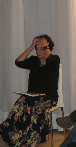 Blanca Sandino en Palma de Mallorca, diciembre de 2008