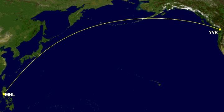 Manila to Vancouver
