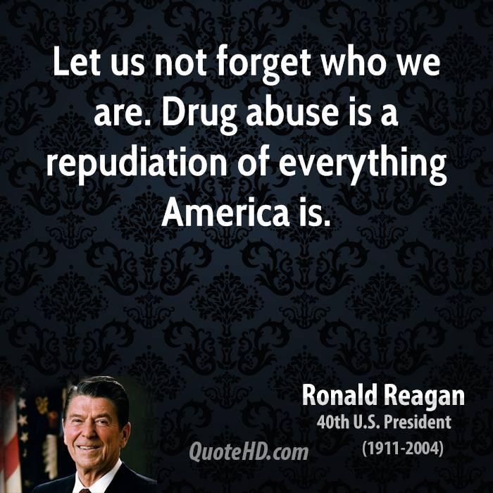 Nixon, Reagan, Clinton, Bush Obama were all War on Drugs Warriors