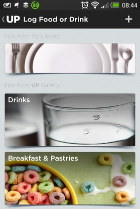 UP by Jawbone - Foods and Drinks