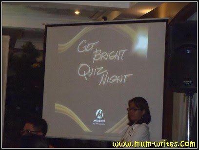 Meralco Get Bright Quiz Night, events