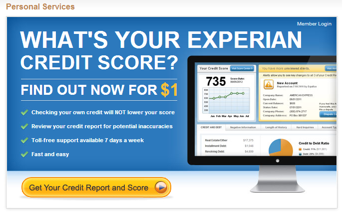 Credit Score By Sears