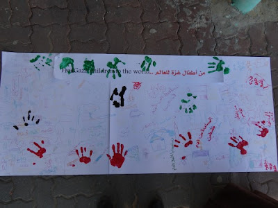 Gazan school girls send a message to the world