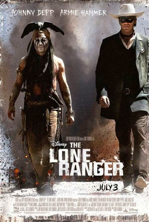 Poster Of English Movie The Lone Ranger (2013) Free Download Full New Hollywood Movie Watch Online At alldownloads4u.com