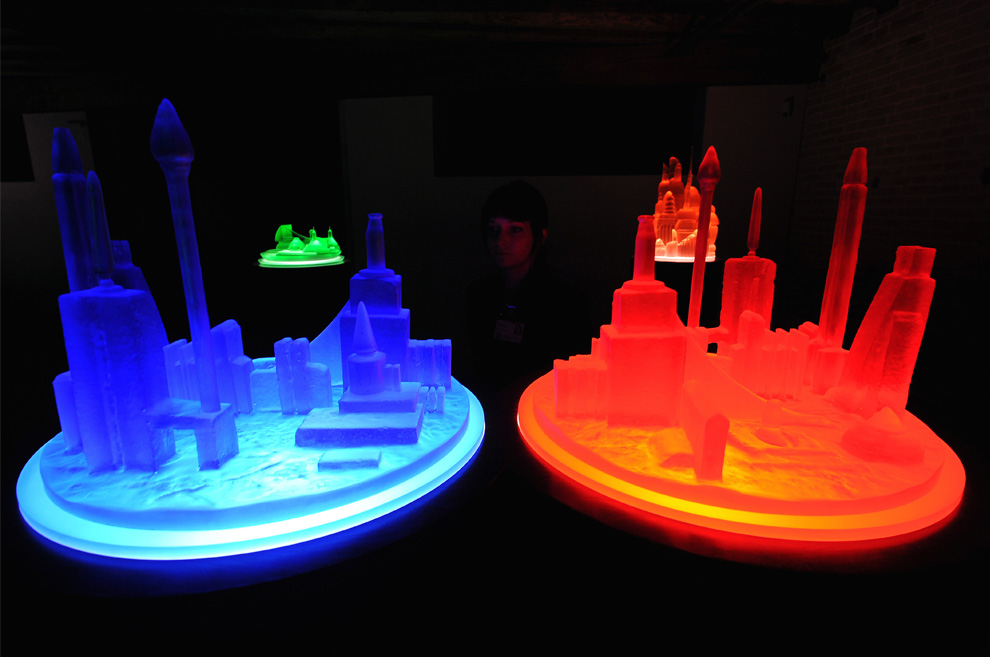 Kandor Series by Mike Kelley. Photo from the 2009 Venice Biennale,