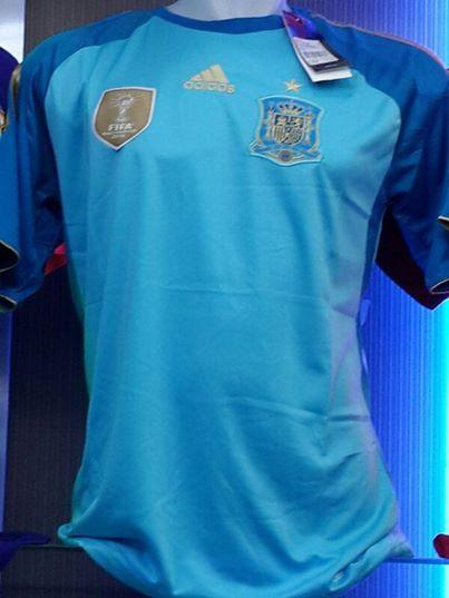 Jual Jersey Kiper Spanyol Piala Dunia 2014