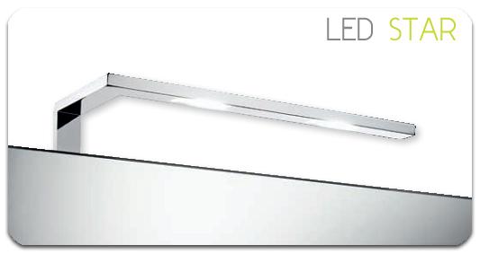 Led star un elegante aplique para el ba o reformas guaita - Aplique bano led ...