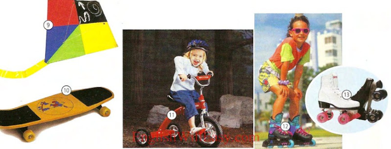 Parque infantil, Diccionario de pre-Scholl-Picture