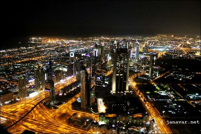 Reisen: Dubai by night