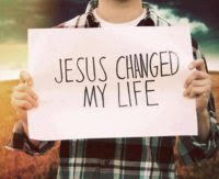 Jesus changed my life