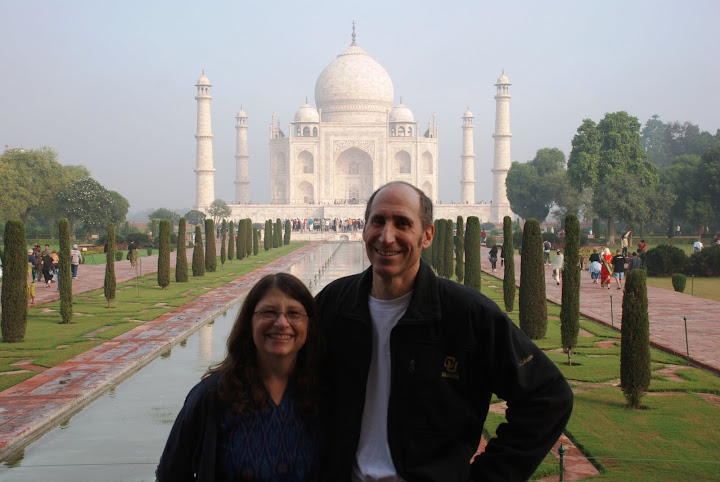 Sandy and Ira Bornstein, Taj Mahal