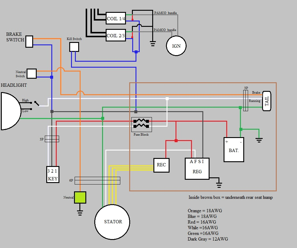 550+wiring+update+boxed.bmp xs650 wiring harness xs650 1982 rectifier wiring wiring diagram  at honlapkeszites.co