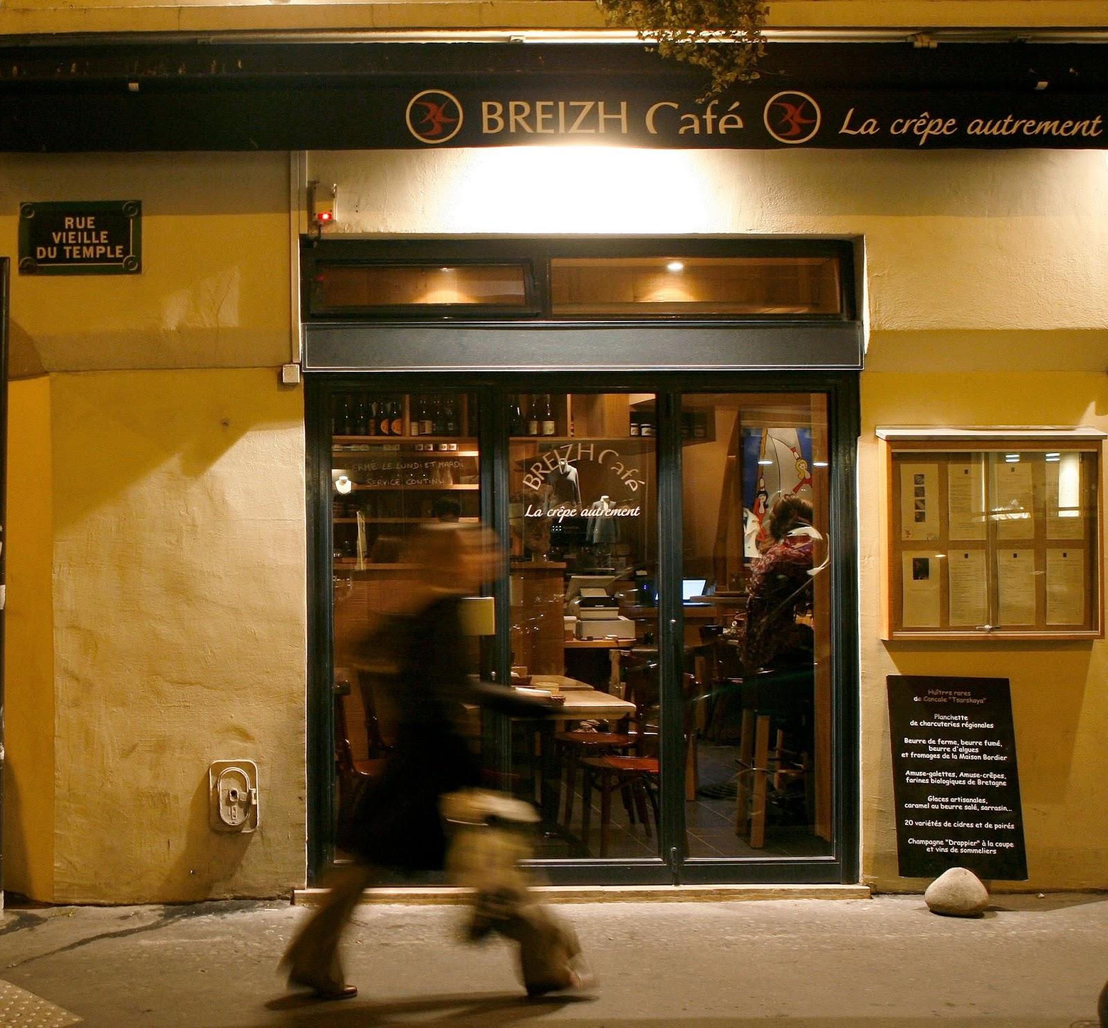 Breizh Cafe, Breizh Café, Best Family Restaurant in Paris