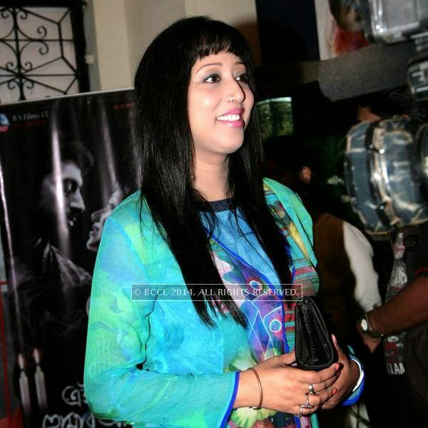 Reshmi during the premiere of Ai Raat Tomar Amar, held in Kolkata.