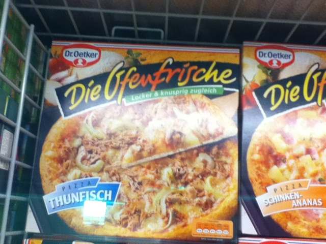 ThunFisch Pizza, Tunafish