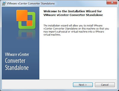 Instalar VMware vCenter Converter Standalone en PC Puente con Windows 7