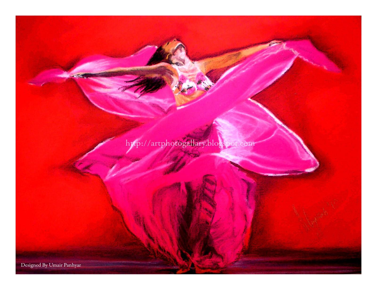 Dancing Girl Paintings Art Dancing Girl Painting