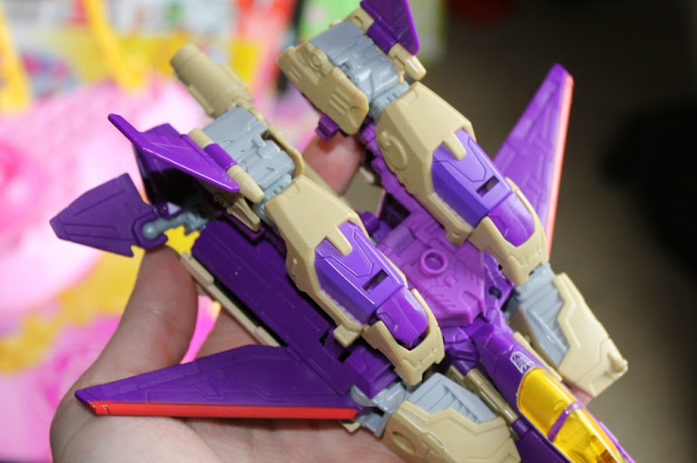 Hasbro's Transformers Generations Blitzwing Action Figure in Jet Form