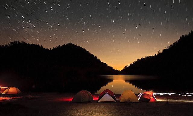 malam bertabur bintang di ranu kumbolo