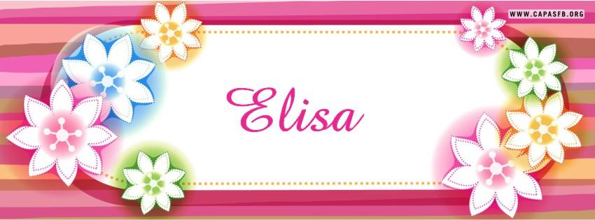 Capas para Facebook Elisa
