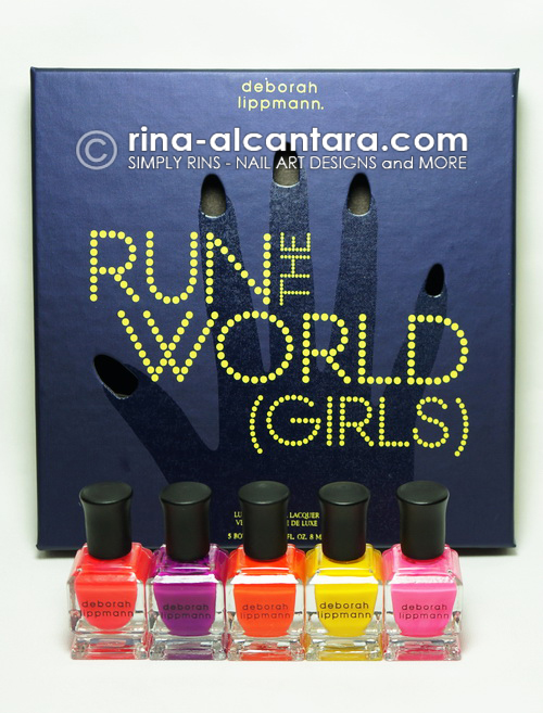 Deborah Lippmann Run the World (Girls) Collection