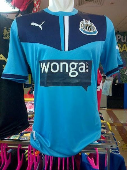 Jual Jersey Newcastle Warna Biru 2014