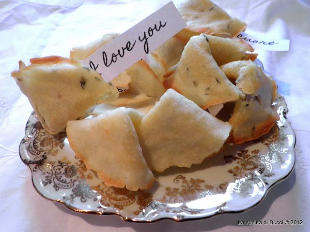 biscotti della fortuna, ma salati