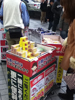 Japan earthquake people buying batteries