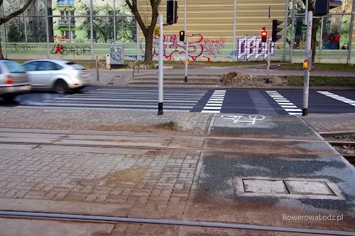 Niestety, nadal nie jest skończony łącznik przejazdu z istniejącą drogą dla rowerów
