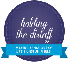 Grab the Holding the Distaff Badge