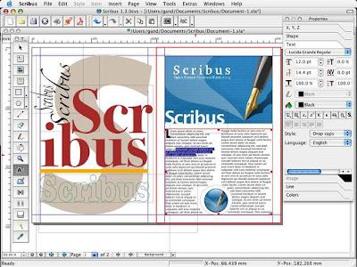 Scribus la mejor alternativa para el diseño de revistas y periódicos