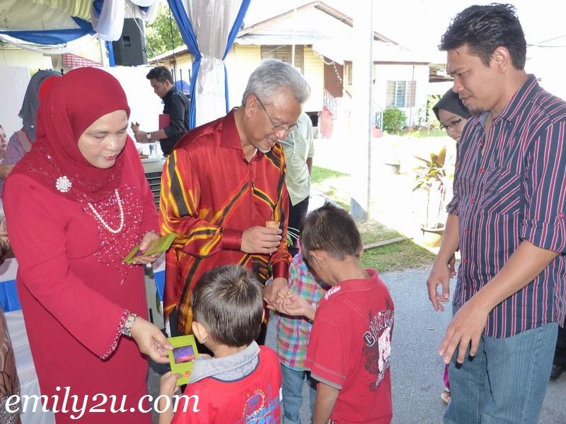 Hari Raya Open House: Y.B. Dato' Seri Ahmad Husni