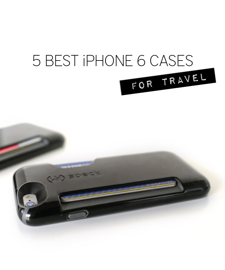 5 Best Travel Phone Cases for the Apple iPhone 6 // Gifts for Travelers.