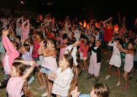 1000 personas  participaron del fogón de cierre de la Colonia Verano para Todos en Cañuelas