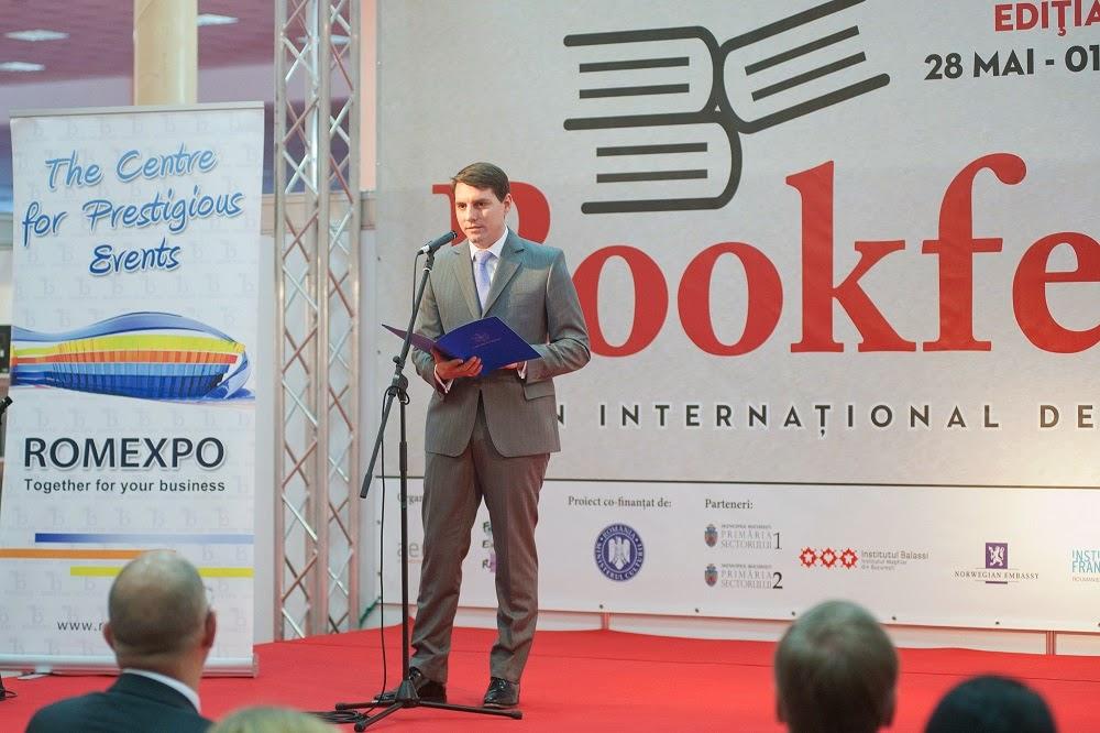 Principele Nicolae, la Salonul Internațional de Carte Bookfest 2014