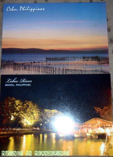 postcards, souvenirs, Bohol