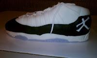 Jordan shoe cake