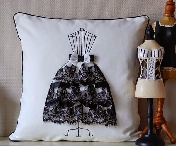 Almofada vestido