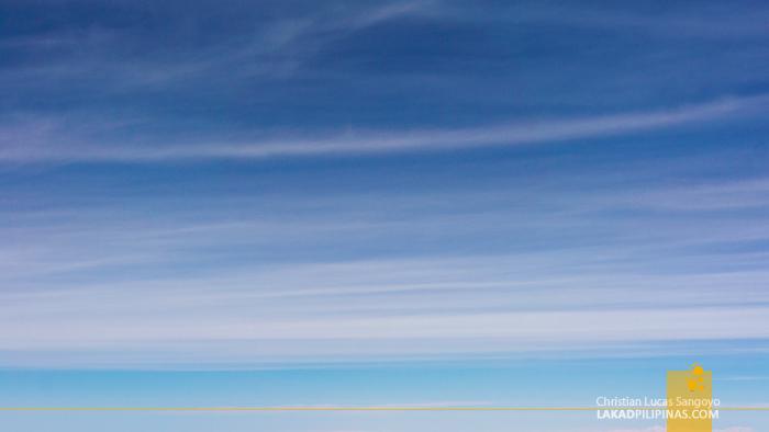 Cruising 28,000 Feet towards Japan