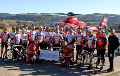 Cyclists pedal for charity