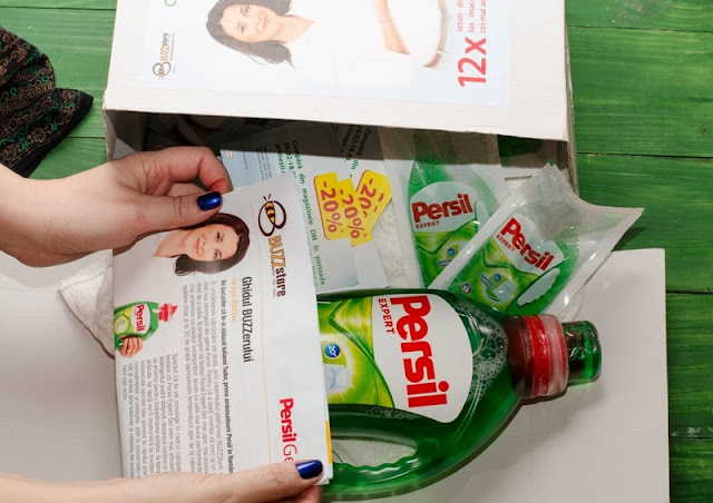 Persil Gel si BUZZstore