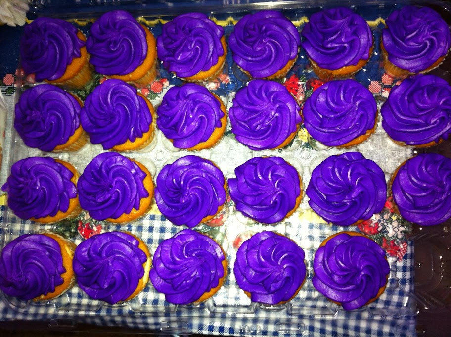 PurpleRun cupcakes A Purple Run to Cure Epilepsy