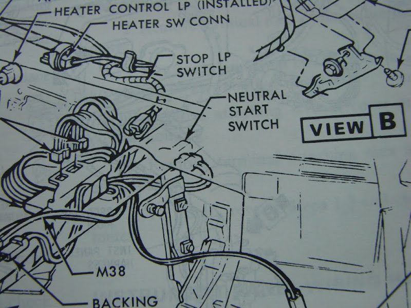 1978 gmc truck neutral switch wiring diagram no power  no power