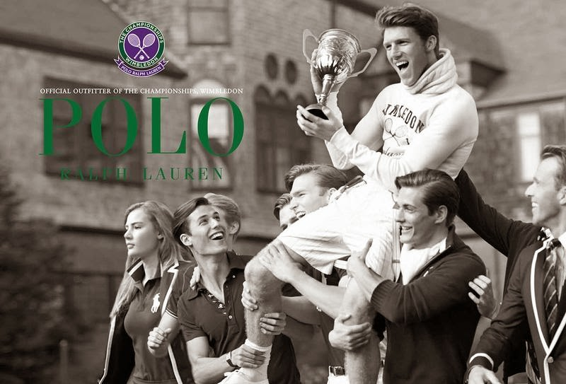 Polo Ralph Lauren Wimbledon Summer 2014, campaña y lookbook
