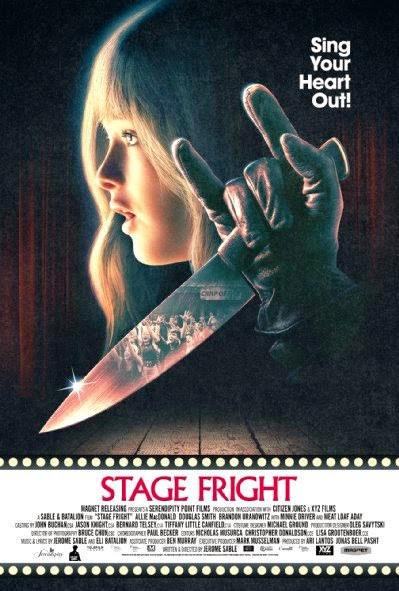 Poster Of English Movie Stage Fright (2014) Free Download Full New Hollywood Movie Watch Online At Alldownloads4u.Com