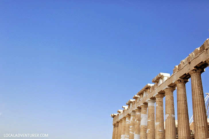The Parthenon Athens Greece.
