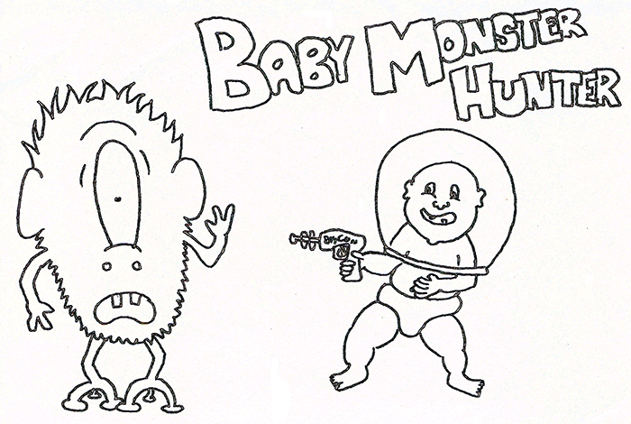 Baby Monster Hunter