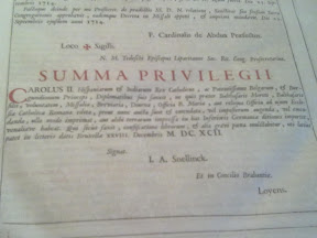 Privilegios otorgados por Carlos II