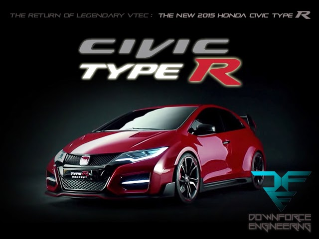 2015 Honda Civic Type R กำลังจะกลับมาเขย่าวงการเรซซิ่งด้วยเครื่องยนต์ 2.0 ลิตร VTEC Turbo