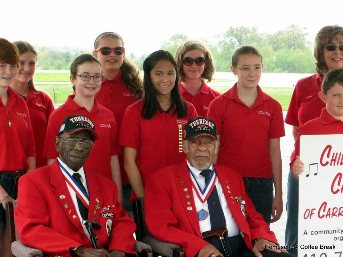 Honoring the Tuskegee Airmen - a Middle School Monday post on Homeschool Coffee Break @ kympossibleblog.blogspot.com